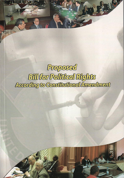 Proposed Bill for Political Rights
